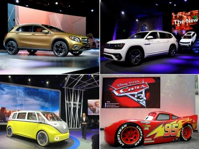 new car releases in 2017New cars SUVs launched at 2017 Detroit auto show  Wheels to