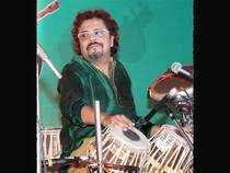 Percussionist Bikram Ghosh.
