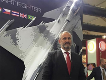 """""""We have 600 products in our portfolio  from submarines to fighters and everything in between.We have 15% civilian products,""""  Widerstrom said."""