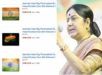 Sushma warns Amazon over insult to tricolour
