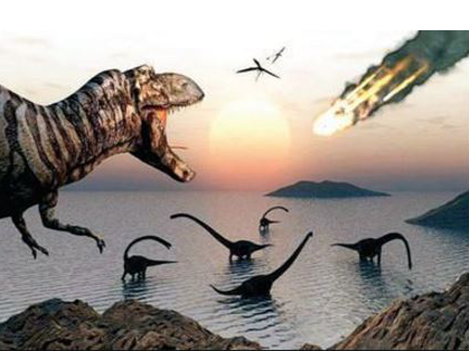 how big was dinosaur asteroid - photo #20