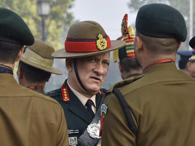 Jawans taking to social media could be punished: Army Chief Bipin Rawat