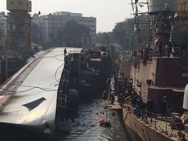 INS Betwa to be uprighted in couple of months