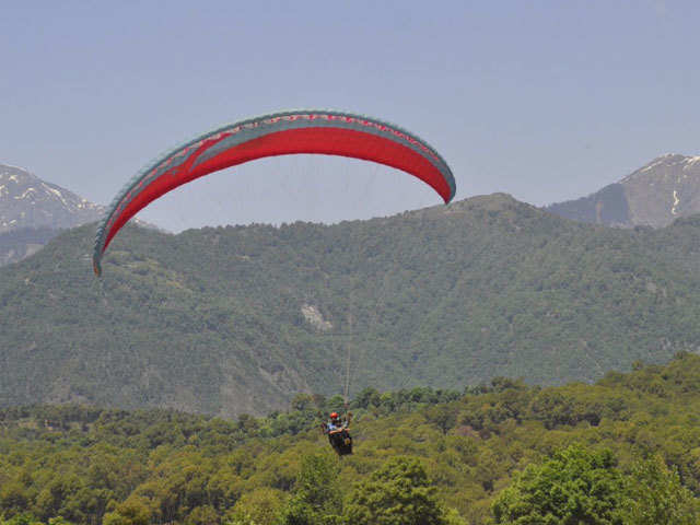 Fly high: Glide with the birds at Dharamshala