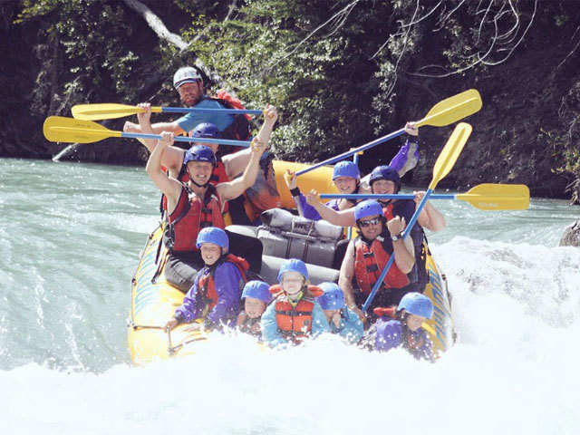 Rafting or paragliding? The choice is yours!