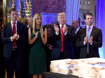 The Trumps: Meet the new US First Family