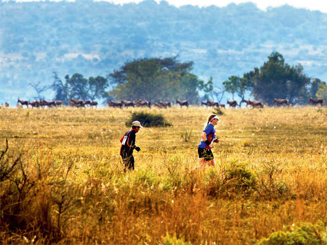 Love running? Here's why you must participate in the big 5 sprints at Entabeni Game Reserve