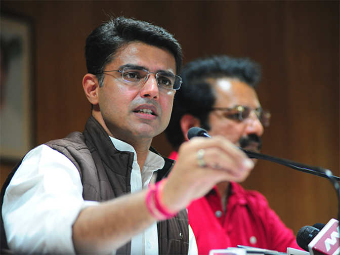sachin pilot and his wife