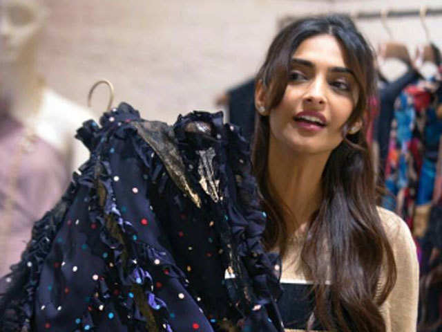When it comes to shopping, Dubai is the place for Sonam Kapoor