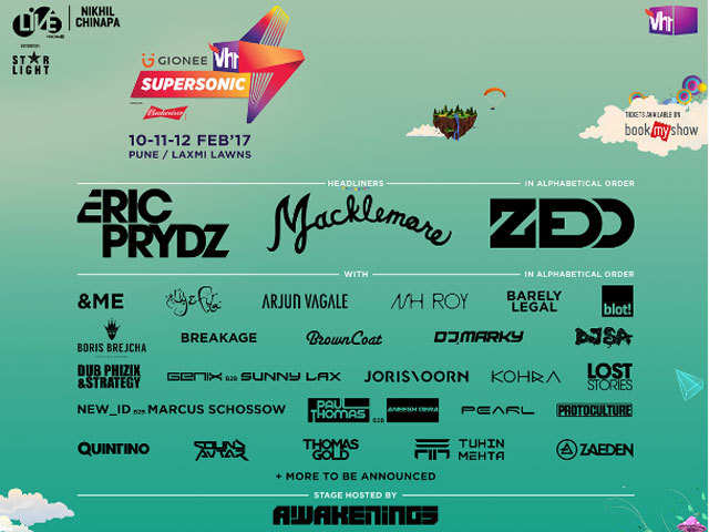 Have you booked your tickets for the Vh1 Supersonic in Pune?