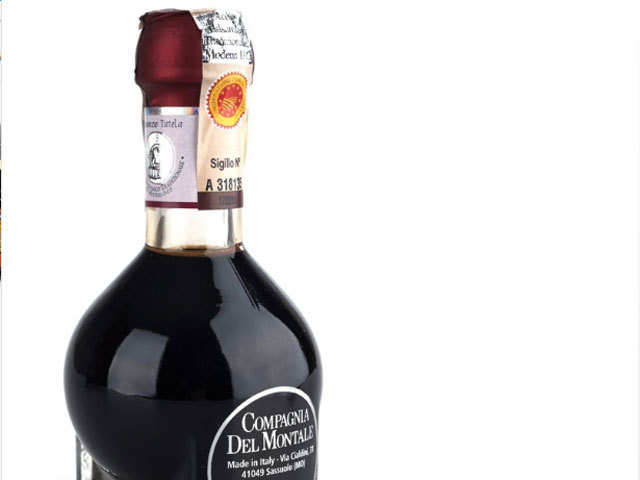 Try the fragrant Modena Balsamico sweet syrup, when in north Italy
