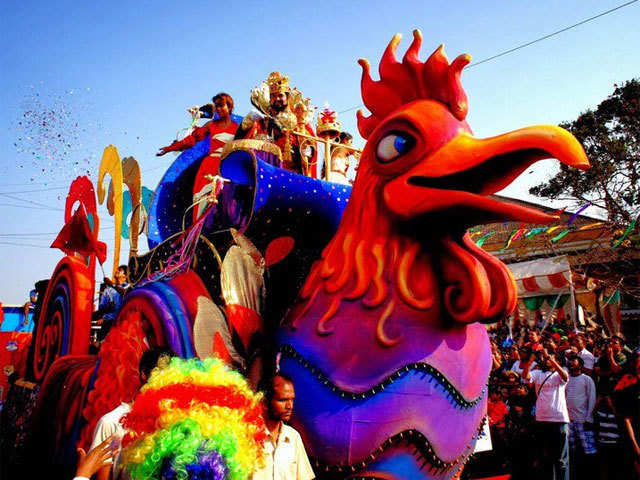 Have you missed the Sunburn? Be there at the Goa Carnival from 25-28 February, to make up for it!