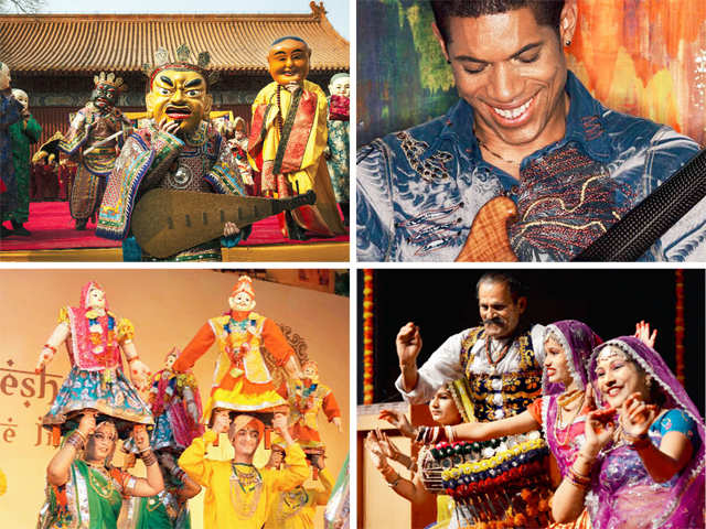 Traveller's Diary: From the Khajuraho Dance Festival the Jazz Utsav