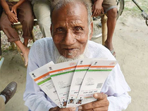 """""""In Gujarat, even payment in ration shops is being made using thumb impression which is linked to Aadhaar,"""" Prasad said."""