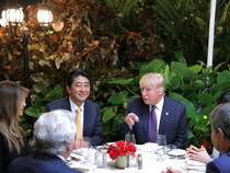 Trump said the two countries face numerous challenges and bilateral cooperation is essential to address them.