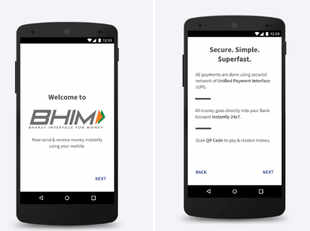"""""""The BHIM App will now cater to almost 100 per cent smartphone users in the country with the launch on iOS platform,"""" said A P Hota, managing director, NPCI."""