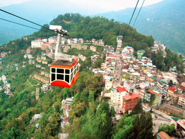 Break away from the mundane and take a trip to Gangtok with your partner