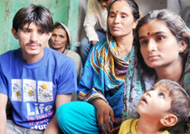 Hindu refugees in Delhi who fled Pakistan due to persecution.