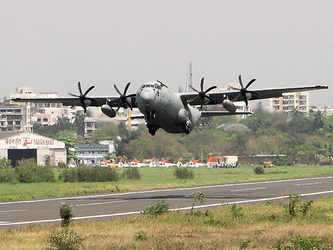Another Super Hercules damaged in Ladakh, India now has only four