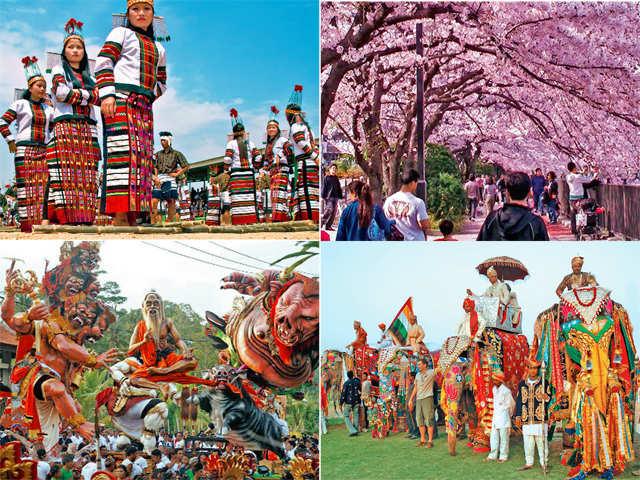 Traveller's Diary: From the St Patrick's Festival in Dublin to the Chapchar Kut Festival in Mizoram