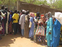 The humanitarian crisis has strained Cameroon's government and aid agencies, and Boko Haram attacks have also driven people from Cameroon villages along the border.