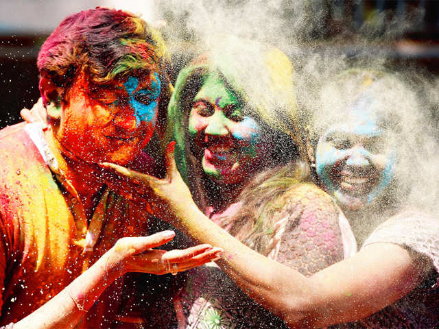 Traveller's Diary: From Holi celebrations across India to the St Patrick's Day in Ireland