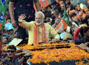 BJP to win 190-210 seats in Uttar Pradesh: Times Now-VMR exit poll