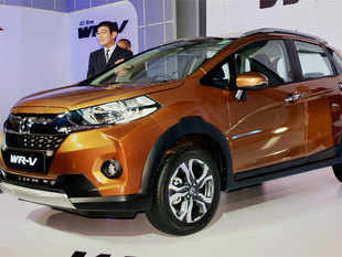 Honda Cars India on Thursday drove in WR-V mini SUV, pricing the entry petrol variant at Rs 7.7 lakh and diesel at Rs 8.8 lakh (ex-showroom Delhi).