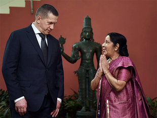 Swaraj specifically stressed the growing mutual beneficial ties between India and Russia in the energy sector, particularly in the Russian Far East, it said.