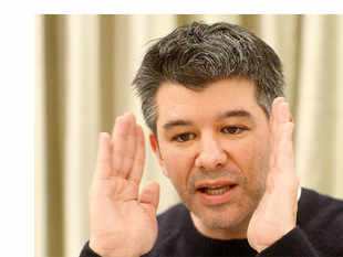"""Self-driving technology has become a fixation for Kalanick. Developing a driverless car, he's often said, is """"existential"""" to Uber."""