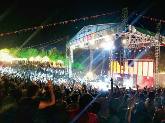 Music and dance festivals at tourist destinations signal the arrival of music tourism in India