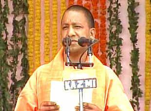 Yogi Adityanath takes oath as UP CM in mega ceremony