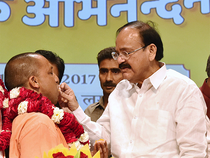"""Describing Adityanath as a politician and committed to help the downtrodden, Naidu said it was """"unfair"""" to attribute caste to him. """"People of all communities are celebrating his appointment,"""" he said."""