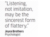 Quote by Joyce Brothers