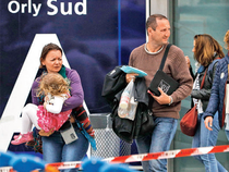 About 100 people who were unable to board flights slept at Orly in beds provided by the airport, while 100 to 200 others spent the night at hotels provided by airlines.