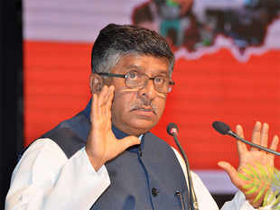 """""""The government must cease to be a compulsive litigant,"""" minister Ravi Shankar Prasad said."""