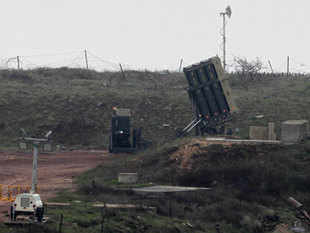 Israeli officials said that David's Sling, meant to counter medium-range missiles possessed by Iranian-backed Hezbollah militants in Lebanon, will be operational in early April.