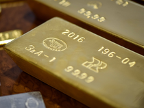 Spot gold was down 0.4 per cent at $1,228.61 per ounce, as of 0556 GMT. In the previous session, it touched its strongest since March 6 at $1,235.50.