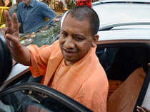 Yogi Adityanath left for Delhi this morning to take part in the meeting of the BJP Parliamentary Board, a BJP spokesperson said.