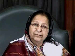 Speaker Sumitra Mahajan, who is a Maharashtrian, said in Marathi that all members should make collective efforts in this regard.