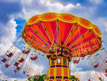 Theme parks have the usual elements of an amusement park such as rides but also retail stores, restaurants etc, unified by a central theme.