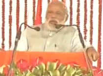Some misguided youngsters are pelting stones, others using the same stones to build infrastructure: PM Modi