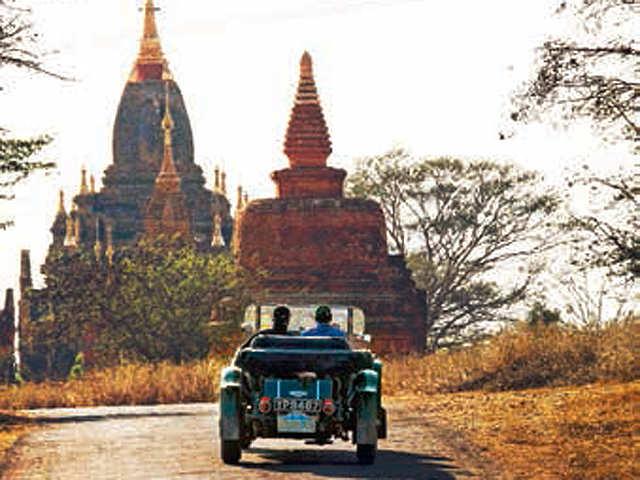 Craving for a memorable road trip? Head for the Bagan Road trip in Myanmar