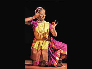 Leela Samson at a Bharathanatyam recital at Sri Krishna Gana Sabha in Chennai in 2010.
