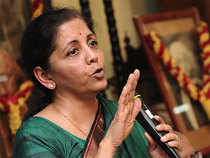 """""""No proposal is under consideration of the government to review the extant FDI policy on multi-brand retail,"""" Commerce and Industry Minister Nirmala Sitharaman said."""