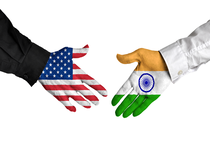 """A statement by the US embassy said the US reaffirmed India's status as """"major defence partner""""."""