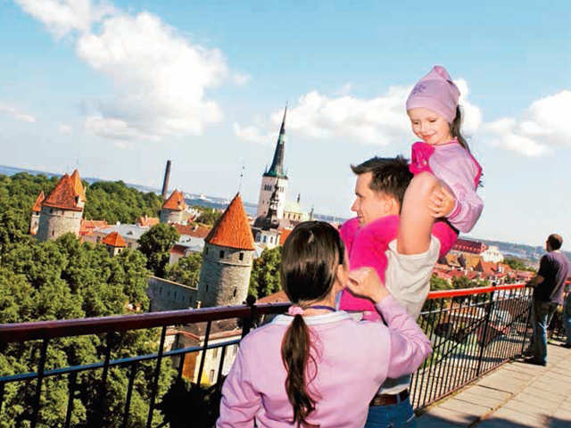 Want a mish-mash of old-world and modern charm? Pack your bags for Estonia