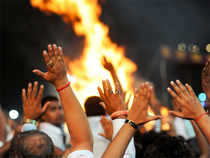 A leading business family from Ahmedabad bid a whopping Rs 33.5 crore to light the pyre, and various other aspects of the funeral rites saw a record Rs 57 crore raised. (Representative image)