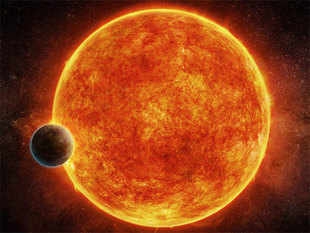 The astronomers estimate the age of the planet to be at least five billion years.