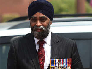 Sajjan offered prayers at the holiest of Sikh shrines and remained there for over one hour.